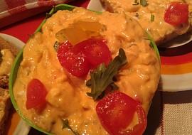 """Pomazánka """"Plamen"""" ze sýrů a zeleniny recept"""
