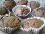 Muffiny ze tří druhů čokolády recept