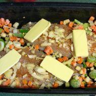 Pečený pangasius se zeleninou recept