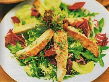 Krůtí salát s javorovým dresinkem