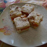 Tvarohovo-meruňkový koláč recept