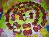 Mašinka k narozeninám-nápad Moničky recept