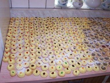Vynikající svatební koláčky