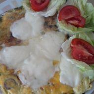 Vaječná omeleta s mozzarellou recept