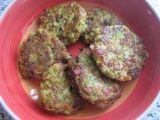 Brokolicové karbanátky s anglickou slaninou recept