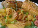 Plněné papriky pečené na smetanových bramborách recept ...