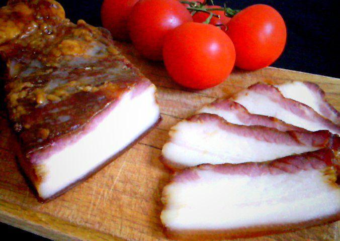 Domácí anglická slanina recept