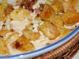 Zapečené brambory se smetanou recept