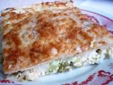 Květákovo-brokolicový koláč recept