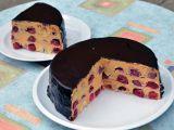 Točený třešňový dort recept
