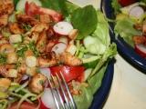 Jarní salát s kuřecím masem recept