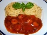 Špagety s kečupovou omáčkou recept