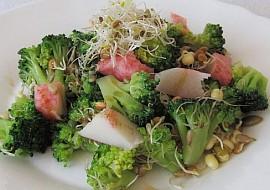 """""""Lehká večeře"""": Brokolicový salát s klíčky recept"""