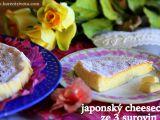 Japonský cheesecake ze 3 surovin recept