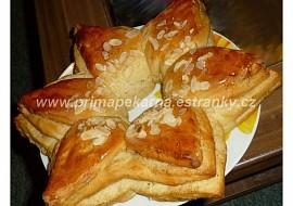 Ořechovo  vanilková hvězda recept