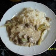 Hovězí Stroganov recept