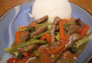 Hovězí chilli čína