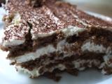 Dort z BE-BE kakaových sušenek recept