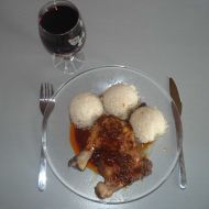 Kuře v červeném víně recept