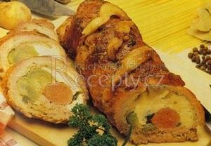 Roláda z vepřového masa