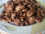 Ořechy v karamelu recept