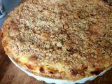 Jablečno-tvarohový koláč s čepicí a skořicovou drobenkou recept ...