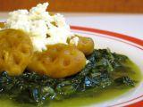 Dýňové noky s baby špenátem a mozarellou recept
