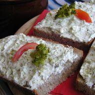 Tvarohová pomazánka s brokolicí recept