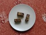 Ořechové nepečené řezy recept
