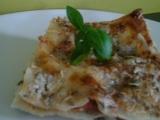 Lasagne se špenátem, rajčaty a Nivou recept