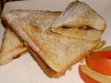 Jablkové toasty recept