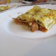Lasagne se sójou a listovým špenátem recept