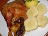 Sváteční husa recept