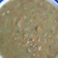 Čočková nebo fazolová polévka recept