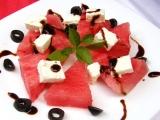 Meloun s balkánským sýrem recept