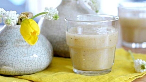 Hruškové smoothie s chia semínky