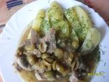 Krkovička na řapíkatém celeru s olivami recept