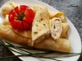 Cuketové palačinky s česnekovo-sýrovou náplní recept ...