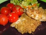 Steak z vepřové kotlety s krustičkou recept