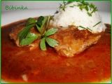 Vepřové maso na paprice a kmínu s libečkem recept