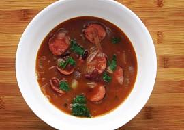 Fazolová polévka s klobáskou recept