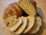Křupavý chlebík z hladké mouky recept