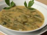 Polévka z fazolkových lusků recept