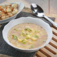 Česneková polévka recept