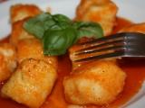 Bramborové gnocchi s rajskou omáčkou recept
