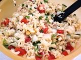 Těstovinový salát po mojemu recept