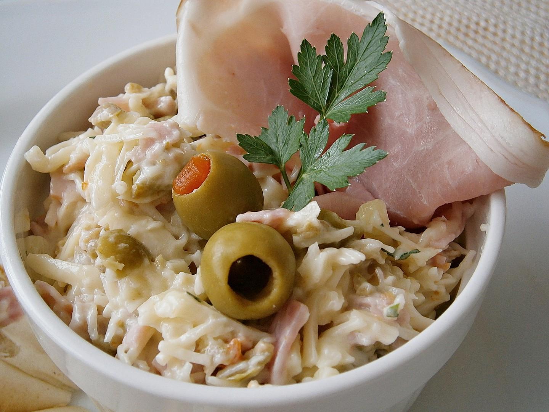 Sýrová pomazánka s olivami recept