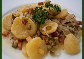 Bramborový salát vlhký recept