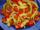 Rajčata a papriky na zimu recept