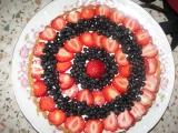 Letní osvěžující dort recept